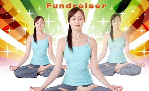 Yoga fundraiser for refugees