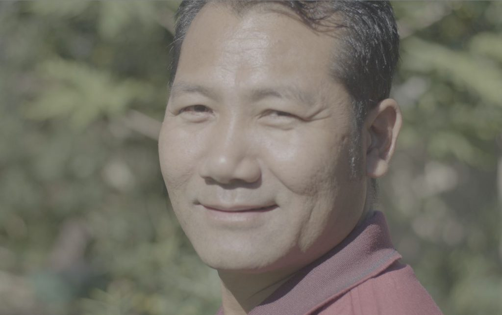 Reng Tung who was assisted to be reunited with his brother by Sanctuary.