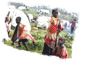 Congolese Kids in Refugee Camp