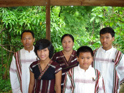 Hau and his family reunited again with sponsorship help from Sanctuary.