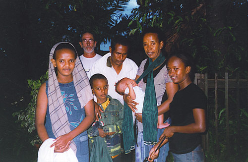 Ethiopian family sponsored by Sanctuary and settled in Brisbane.