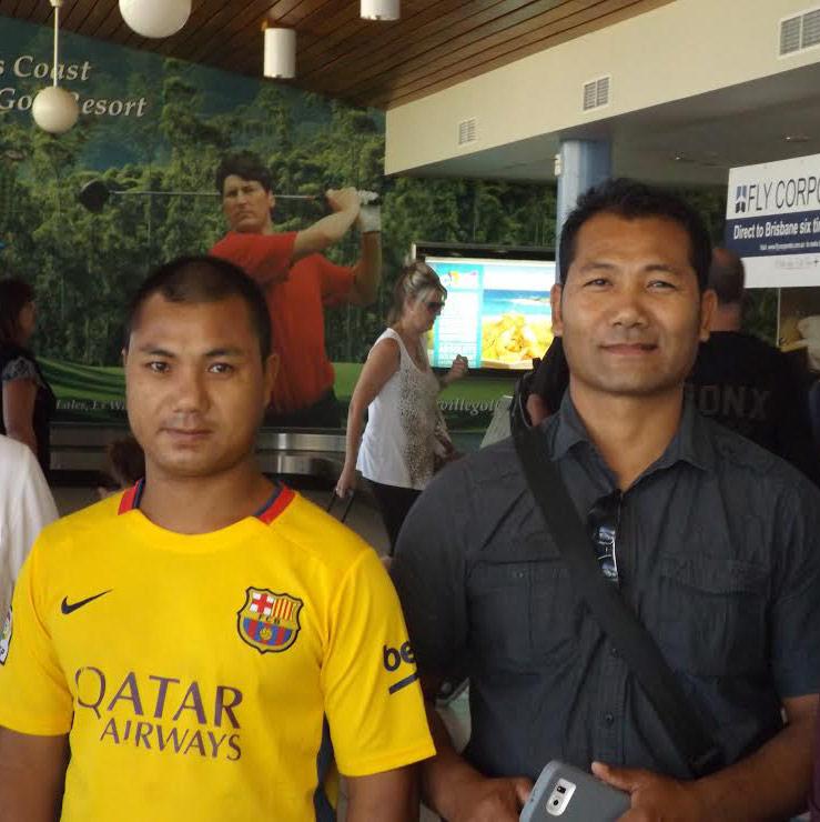 Burmese brothers reunited