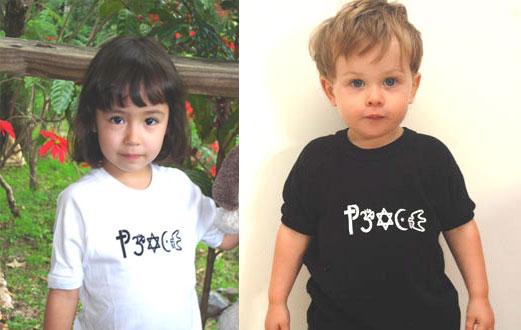 Children's Peace T-shirt